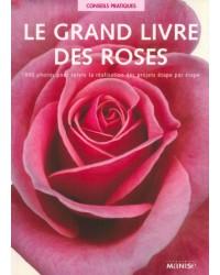 Le grand livre des roses : 1000 photos pour suivre la réalisation des projets étape par étape