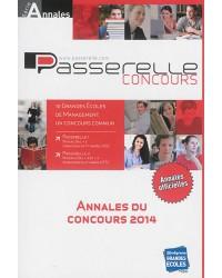 Annales Passerelle ESC concours 2014. Sujets et corrigés officiels