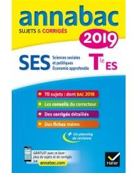 SES, sciences sociales et politiques, économie approfondie, terminale ES : 2019