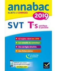 SVT terminale S, spécifique & spécialité : 2019