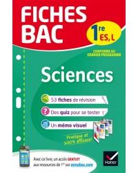 Sciences 1re ES, L : conforme au dernier programme - Nouvelle édition