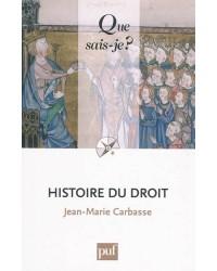 Histoire du droit - 2e éd. corr.