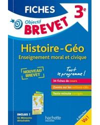 Histoire-Géo Enseignement moral et civique 3e. Fiches