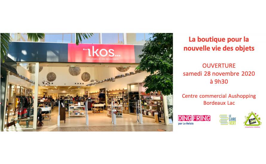 Ouverture de la boutique éphémère ïkos samedi 28 novembre !
